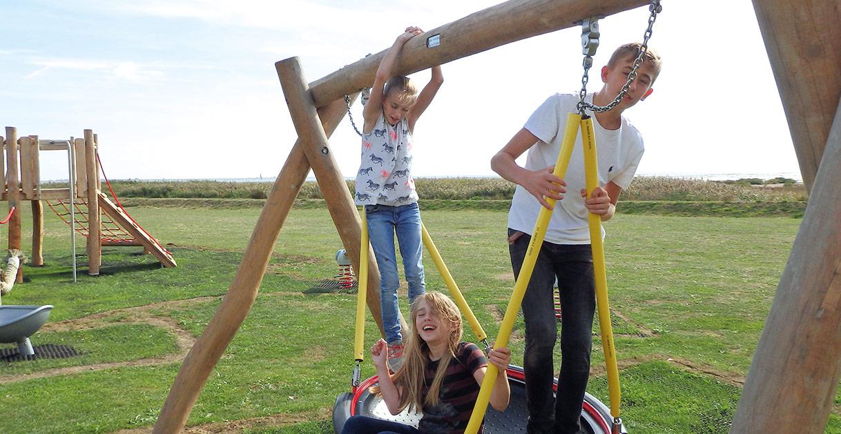 Playground at Mersea Island