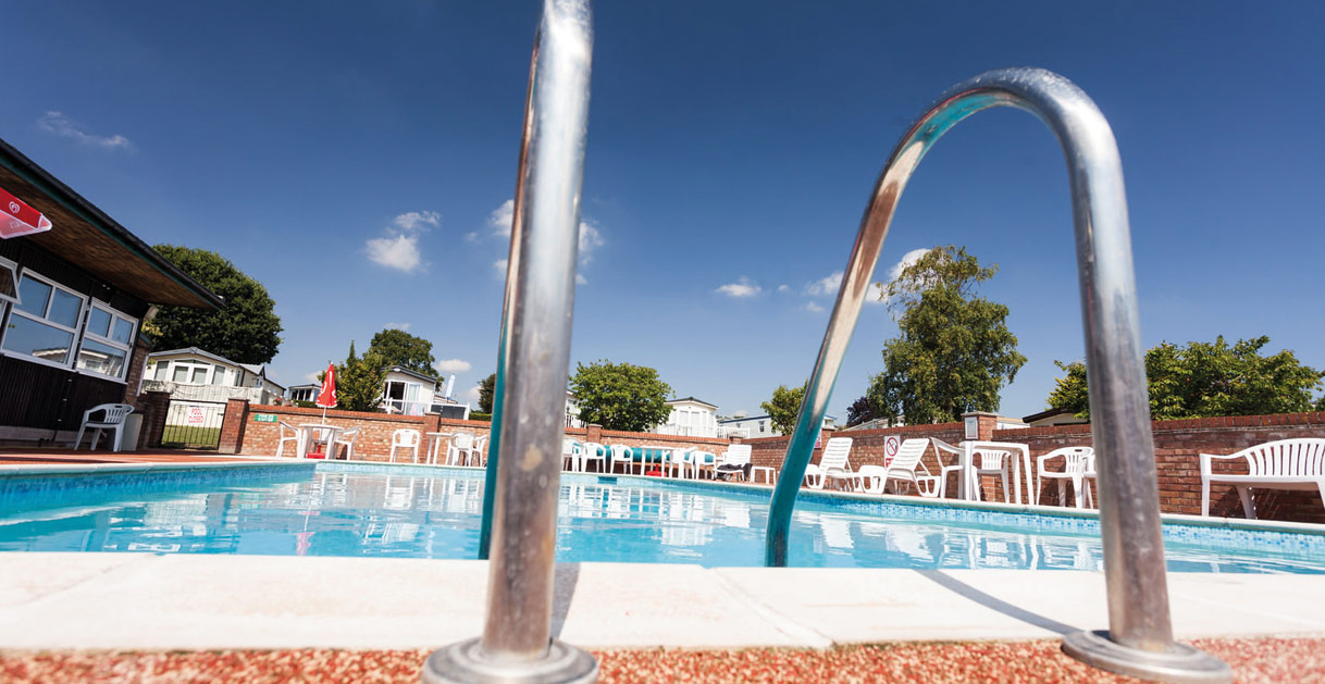 Outdoor Swimming Pool at Mersea Island