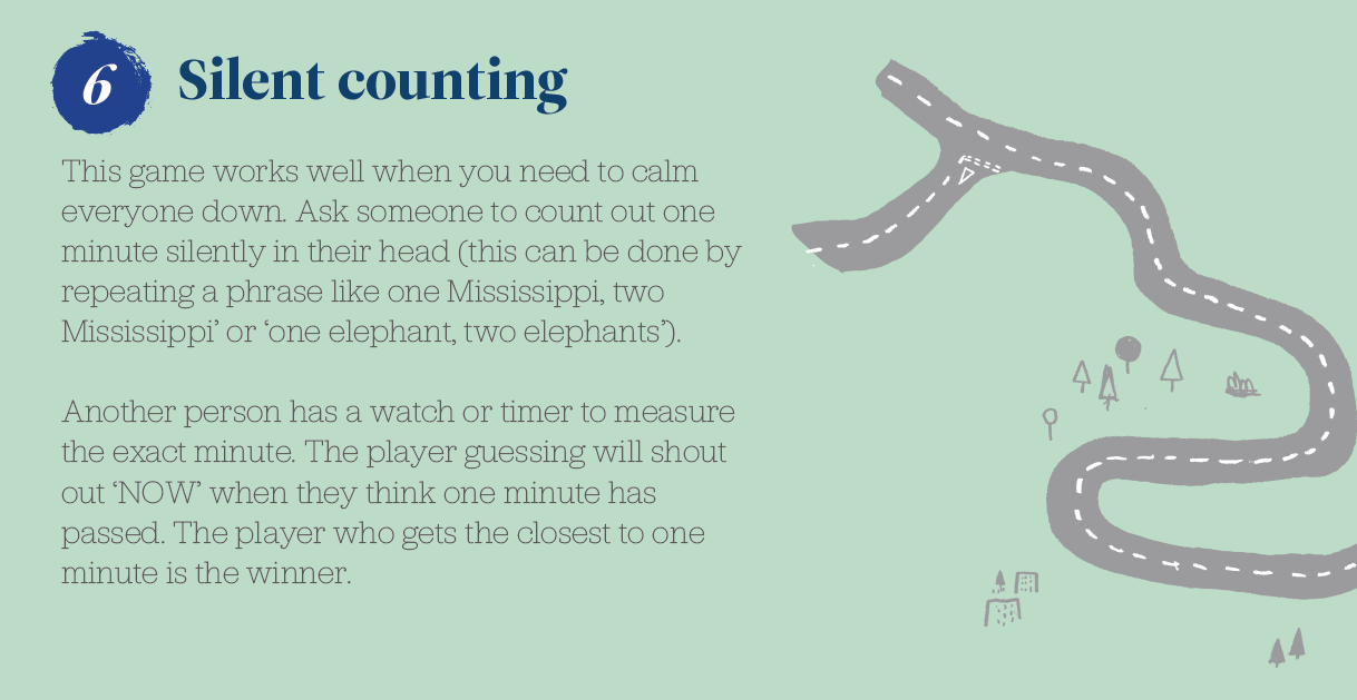 6. Silent counting