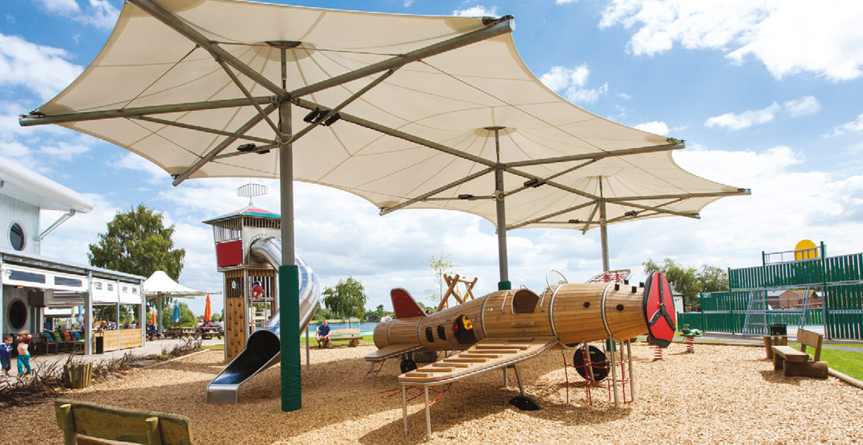 Adventure Playground at Tattershall Lakes