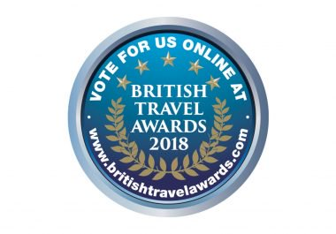 British Travel Awards button