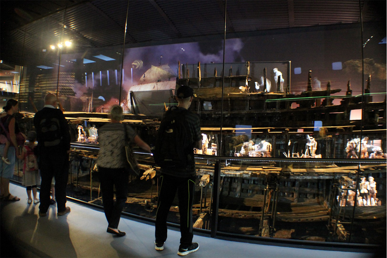 Mary Rose inside